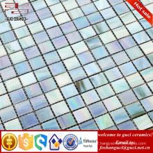 cheap tile mixed Hot - melt mosaic bathroom glass mosaic tile