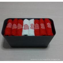 (BC-G1001) Werbegeschenk-Frottee-Tuch mit Aufbewahrungsbehälter