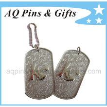 3D Zinc Tags with Nickel Plating