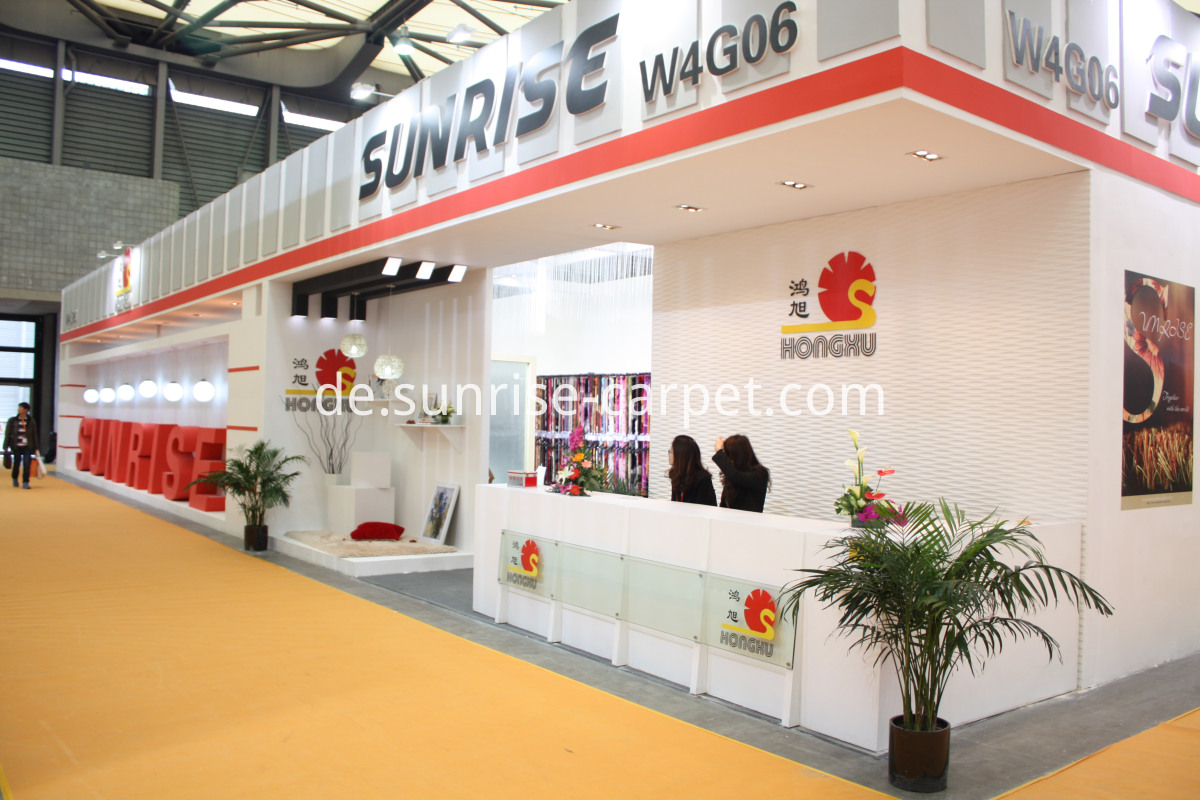 Booth In Domotex Shanghai