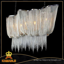 Modern Silver Chain Lighting Chandelier Pendant Light (KA107)