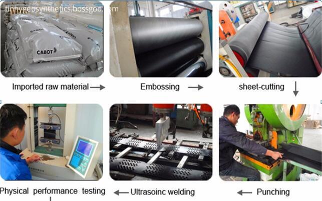 fishpond liner production