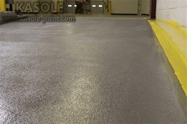 Epoxy anti static floor coating
