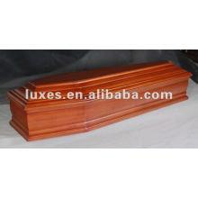 Professional european wooden coffin