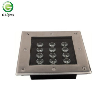 Diseño cuadrado 12watt LED Underground Light