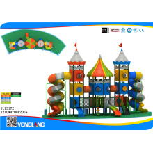 Plastic Outdoor Playground for Park Amusement