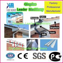 Máquina de produção de calhas de água de chuva de PVC