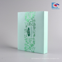 Alibaba pas cher usine prix masque facial cosmétique boîte d'emballage de stockage