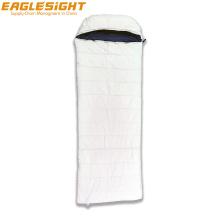 Organic Cotton Envelope Sleeping Bag Two Side Zippers Winter Camping Sleeping Bag Connectable Sleeping Bag