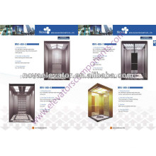 Machine Room Elevator Cabins , Luxury Residential Passenger Cabin