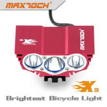 Maxtoch X3 3000LM 4 * 18650 Pack Intelligent LED Vélo Lumière
