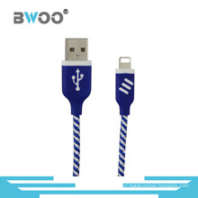 USB Data Fast Charging Lightning Micro Cable for Smartphone
