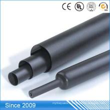 Tube optique de rétrécissement de chaleur de fibre de mur moyen imperméable adhésif de fonte chaude