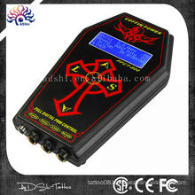 COFFIN Digital DUAL Tattoo Power Supply Unit Hurricane LCD Source Kit