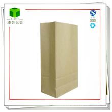 Bolso de papel inferior cuadrado cuadrado
