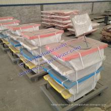 Charpy Birdge Pot Bearing para construções de viaduto para a Malásia