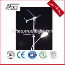 LED de energía eólica de la energía de la energía de la luz de la calle solar
