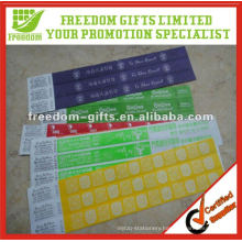 Promotional Cheap Paper RFID Wristband