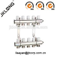 F615 Brass Manifold Valve para sistema de calefacción por suelo radiante