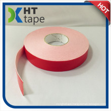 Red Liner PE Foam Double Sided Adhesive Tape