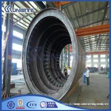 Cofragem de tubos de aço de alta resistência personalizada para infraestrutura de tráfego de túnel (USD1-001)