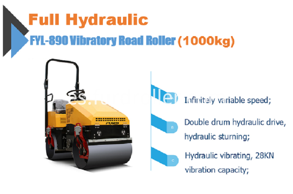 Smooth Drum Roller Compactor