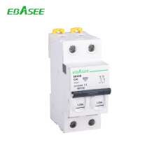 c65 internal stracture 2p mini circuit breaker