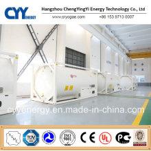 Cyy High Quality High Pressure LNG Lox Lin Lar Lco2 Tank Container