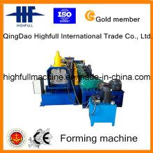 Machine à formage de rouleaux de gouttière en acier galvanisé avec vitesse de production de 8 à 15 m / min
