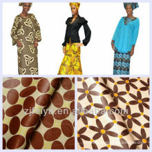 Wholesale&Retail African Shadda Bazin Riche Abaya Material Boubou Guinea Brocade Fabric 10 Colors And Patterns