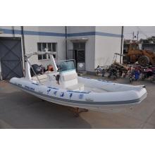 6,8 m Rettungsboot Starres Schlauchboot mit hoher Lastgeschwindigkeit