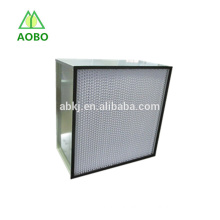 H13, H14 box type separator HEPA filter for laminar air flow hoods, laboratory