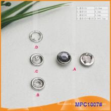 Crystal Cap Five Paws Snap Button MPC1007