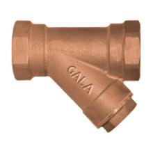 Bronze Y-filtro (roscado)