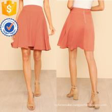 Seam Detail Flared Skirt Manufacture Wholesale Fashion Women Apparel (TA3085S)