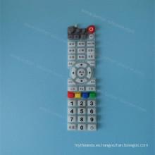 Pantalla de encargo que imprime el telclado numérico de la goma de silicona