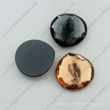 Flatback Glass Crystal Strass pour la fabrication de collier