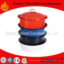 Sunboat qt 3 esmalte olla esmalte Cookware, utensilios de cocina, utensilios de cocina utensilios