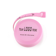 Pink Retractable Sewing Promotion Tape Measure