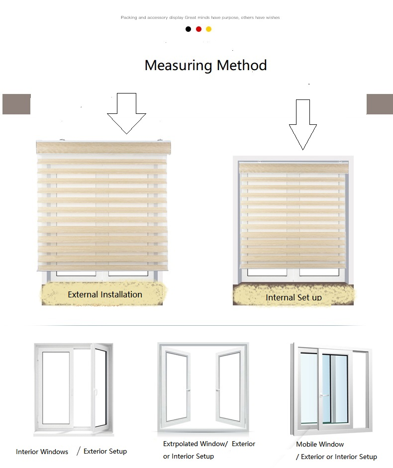 Automatic Window Sheer Blind