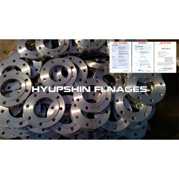 Flip Plate Flange pada S235JR Steel Face Raised