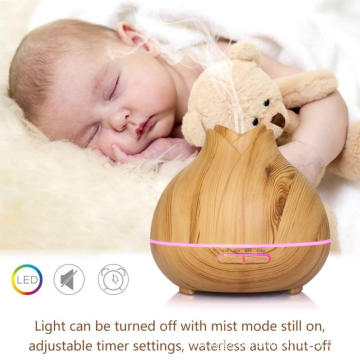 400ml Wholesale Ultrasonic Wooden Aroma Diffuser