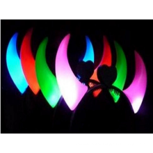 Led hair band elastic abnd shining flashing band