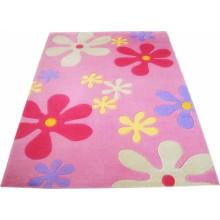 Baumwolle Acryl Polyester Teppich Bad Matte Teppich