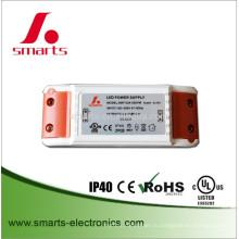 Перечисленный UL 110В полное напряжение 24В постоянного тока 1А 24w светодиодный драйвер для полосы света