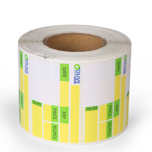 Supermarket direct thermal adhesive weighing scale label
