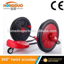 Scooter Folding Kids Scooter de 3 rodas Twist Kick com EN-71 Aprovado