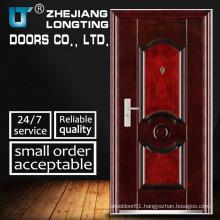 Metal Door Single Door Entry Steel Metal Door