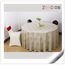 High Grade Jacquard Fabric Colorful Stain Resistant Polyester Tablecloth