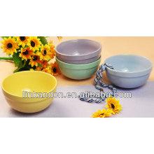 KC-04014round solid color bowls,artware/ice cream bowls